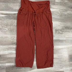 XL Old Navy Maternity Linen Pants